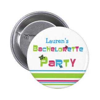 Botón adaptable del fiesta de Bachelorette Pin