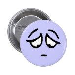 Botón adaptable del fondo del Emoticon Pins