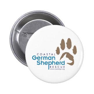 Botón adaptable - pastor alemán costero pin