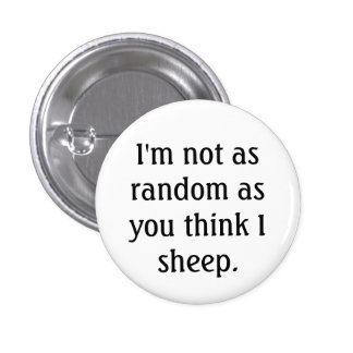 botón al azar de las ovejas