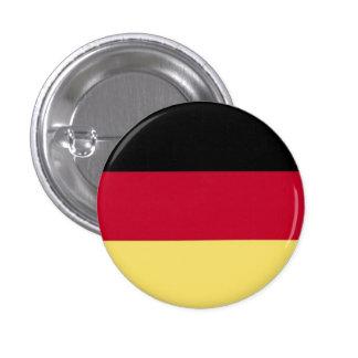 Botón alemán de la bandera pin redondo de 1 pulgada