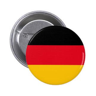 Botón alemán de los colores pins