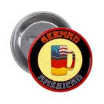 Botón alemán de Stein del americano