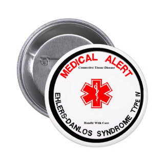Botón alerta médico del EDS IV VEDS Pin