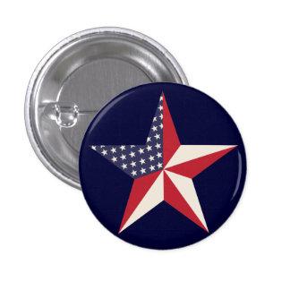 Botón americano de la estrella