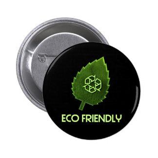 Botón amistoso de Eco Pins