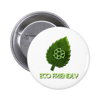 Botón amistoso de Eco Pin