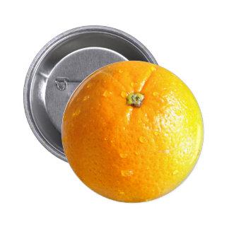 Botón anaranjado 02 pin redondo de 2 pulgadas