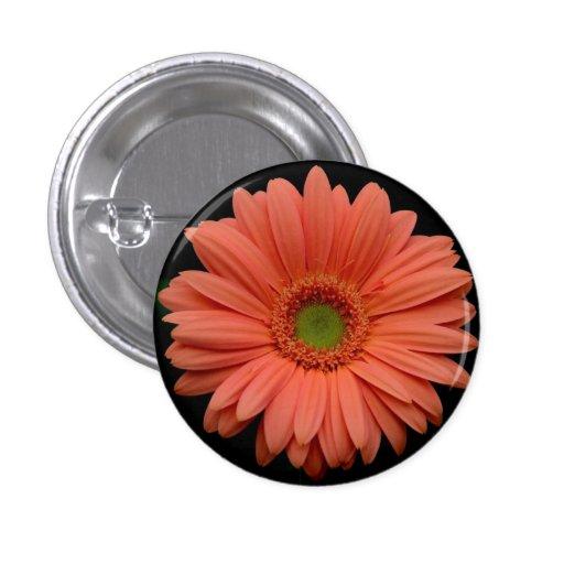 Botón anaranjado de la flor del Gerbera Pin