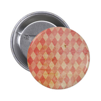 Botón anaranjado retro del modelo de los años 70 d pins