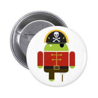 Botón androide del pirata