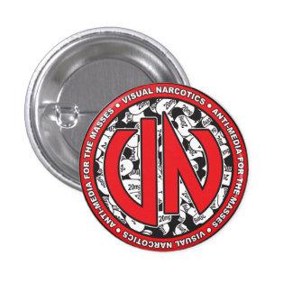Botón anónimo del VN Pin Redondo De 1 Pulgada