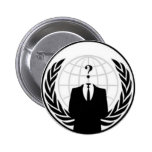 Botón anónimo pin