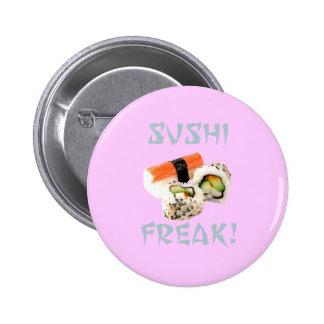 Botón anormal del sushi pin