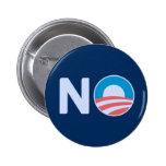 Botón anti de Obama Pin