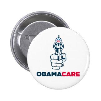Botón anti de Obamacare Pin Redondo De 2 Pulgadas