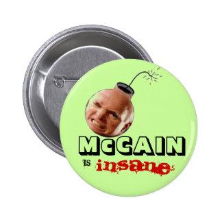 Botón Anti-McCain Pin