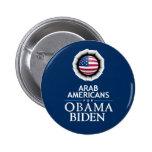 Botón ÁRABE de los AMERICANOS Pins