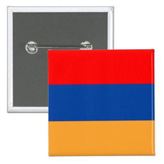 Botón armenio de la bandera