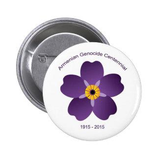 Botón armenio del Centennial del genocidio