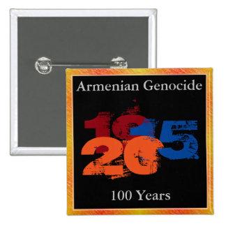 Botón armenio del genocidio
