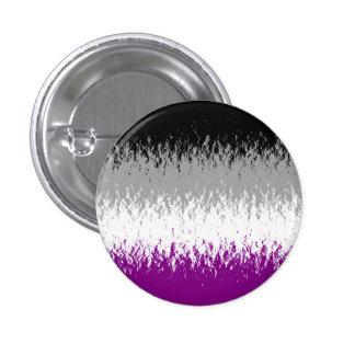 """Botón asexual de la bandera el """"flamear A"""" Pin"""
