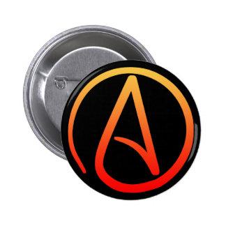 Botón ateo del símbolo