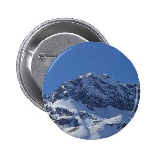 Botón austríaco de las montañas pin redondo de 2 pulgadas