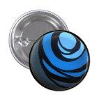 Botón azul de Chakra