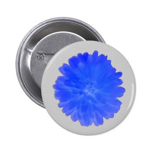 Botón azul de la maravilla