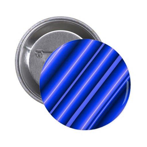 Botón azul de los tubos pins