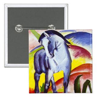 Botón azul del caballo de Franz Marc Pin