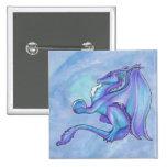 Botón azul del dragón