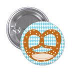 Botón bávaro del ramillete del pretzel (Brezn) Pins