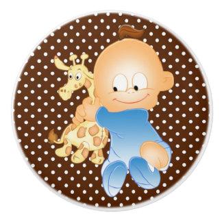 Botón/bebé de cerámica pomo de cerámica