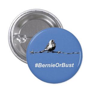 Botón Bernie o busto Pin Redondo De 1 Pulgada