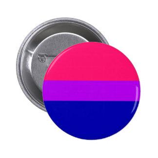 Botón bisexual del orgullo pin redondo de 2 pulgadas