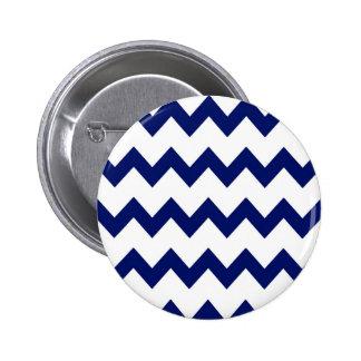 Botón blanco de los galones de la marina de guerra pin