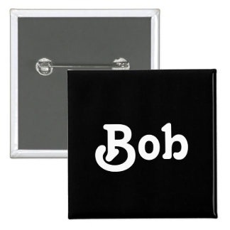 Botón Bob Pin Cuadrado
