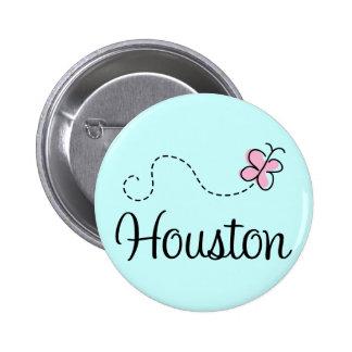 Botón bonito de Houston Tejas Pins