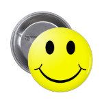 Botón: Botón sonriente de la cara Pins