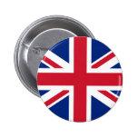 Botón BRITÁNICO de la bandera Pin