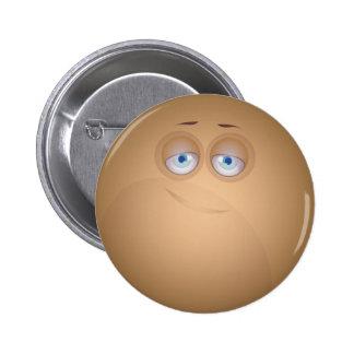 Botón Brown de CutieBounce Pins