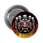 Botón butanés del demonio pin
