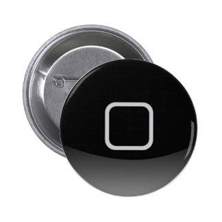 botón casero del iPhone Pin Redondo De 2 Pulgadas