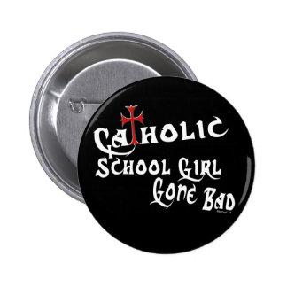 Botón católico de la colegiala B Pin