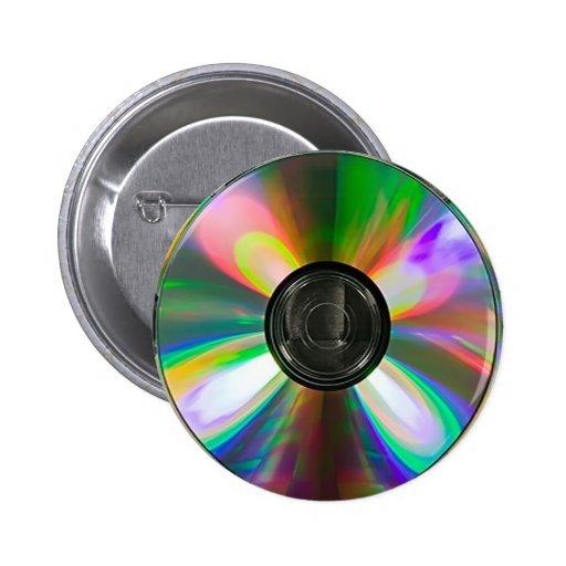Botón Cd del disco Pins