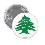 botón - cedro libanés pin