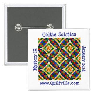 Botón céltico del solsticio pin