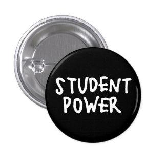 Botón clásico de la protesta del poder del pin redondo de 1 pulgada
